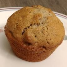 Cinnamon banana nut muffin